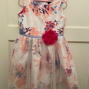 Lilt floral dress - polyester 5-6 yrs